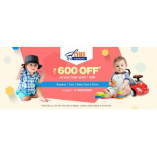 Deals, Discounts & Offers on Baby & Kids - Rs. 600 OFF on your order worth Rs. 2000