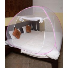 Deals, Discounts & Offers on Accessories - Anand Bazar Double Bed Mosquito Net at 45% OFF