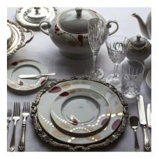 Deals, Discounts & Offers on Home & Kitchen - Lazzaro Elegance 64 Pcs Dinner Set