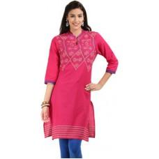 Deals, Discounts & Offers on Women Clothing - Max Self Design Women's A-line Kurta