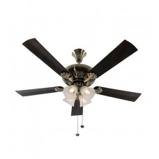 Deals, Discounts & Offers on Home Appliances - Flat 21% offer on Usha Fontana Maple Antique Brass Ceiling Fan with Light