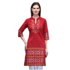 Deals, Discounts & Offers on Women Clothing - Upto 30% Cashback offer on Womens cotton kurta