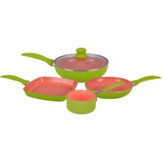 Deals, Discounts & Offers on Home Appliances - Flat 50% offer on Wonderchef Oxford Set Of 4pcs Cookware Set