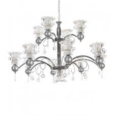 Deals, Discounts & Offers on Home Appliances - Aesthetics Home Solution Chrome Finish Aluminium Chandelier