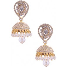 Deals, Discounts & Offers on Women - Rubera CZ Alloy Jhumki Earring
