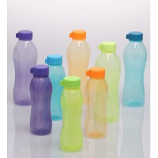 Deals, Discounts & Offers on Home & Kitchen - Get 88% off  Kitchen Cook'S Multicolored Plastic 1000 ML & 500 ML Water Bottles - Set of 8