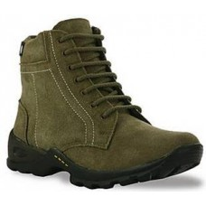 Deals, Discounts & Offers on Men - Bacca Bucci Premium Olive Men Boots  at Rs 545 only