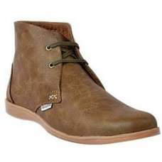 Deals, Discounts & Offers on Foot Wear - Footlodge Brown Men Boots 3436 at Rs 569 only