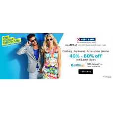 Deals, Discounts & Offers on Men Clothing - Extra 15% off with HDFC debit and credit cards in Flipkart