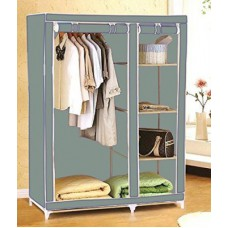 Deals, Discounts & Offers on Home Appliances - Evana Carbon Steel Collapsible Wardrobe