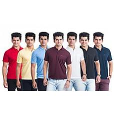 Deals, Discounts & Offers on Men Clothing - Eprilla Combo Of 7 Men T-Shirts