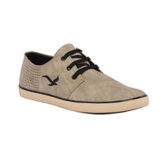 Deals, Discounts & Offers on Men Clothing - Kraasa Grey & Black Men Casual Shoes @ Rs.699