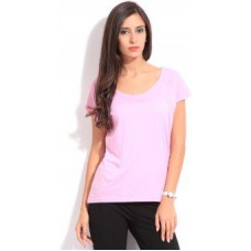 Deals, Discounts & Offers on Women Clothing - Only Casual Short Sleeve Solid Women's Top