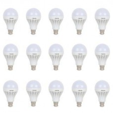Deals, Discounts & Offers on Home Appliances - Combo pack of 15 Frazzer 18 W LED BULB