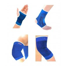 Deals, Discounts & Offers on Sports - Jaatara Combo of Knee Palm Elbow Ankle Supports for Fitness