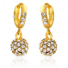 Deals, Discounts & Offers on Earings and Necklace - Mahi Royal Gold Sparklers Earrings