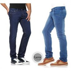Deals, Discounts & Offers on Men Clothing - Flat 61% off on Stylox Pack of 2 Lycra Denim