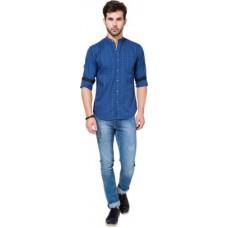 Deals, Discounts & Offers on Men Clothing - Highlander Men's Solid Casual Shirt