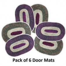 Deals, Discounts & Offers on Home Decor & Festive Needs - Flat 77% off on Door Mats - Set Of 6