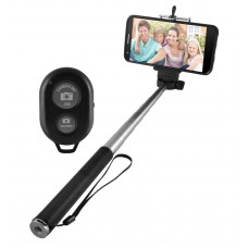 Deals, Discounts & Offers on Mobile Accessories - Pluto Plus Selfie Stick Wireless Mobile Phone Monopod
