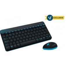 Deals, Discounts & Offers on Computers & Peripherals - Logitech MK240 Wireless Keyboard and Mouse Combo