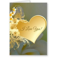 Deals, Discounts & Offers on Home Decor & Festive Needs - Lolprint I Love You Greeting Card