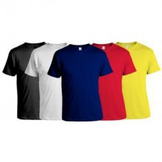 Deals, Discounts & Offers on Men Clothing - Pack of 5 Multicoloured Round Neck Mens T-Shirt