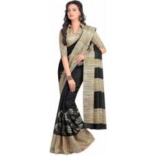 Deals, Discounts & Offers on Women Clothing - Flat 70% off on Sunaina Printed Mysore Cotton Sari