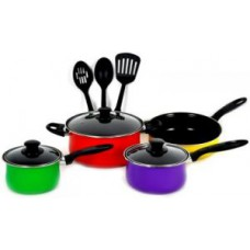 Deals, Discounts & Offers on Home Appliances - Tissot 10 PCs Non-stick Coated Cookware Set
