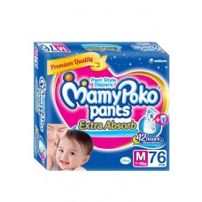 Deals, Discounts & Offers on Baby Care - MamyPoko Medium Size Pants - 76 Count