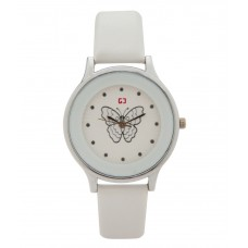 Deals, Discounts & Offers on Women - Gypsy Club White Casual Round Watch For Women
