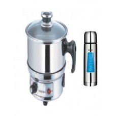 Deals, Discounts & Offers on Home Appliances - Combo of Electrical Cooker and FLASKS-Glair and Flask