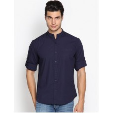 Deals, Discounts & Offers on Men Clothing - Highlander Men's Solid Casual Shirt