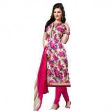 Deals, Discounts & Offers on Women Clothing - Shonaya Bhagalpuri Printed Unstitched Dress Material