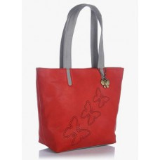 Deals, Discounts & Offers on Women - Butterflies Red Handbag