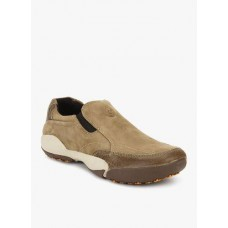 Deals, Discounts & Offers on Foot Wear - Woodland Khaki Loafers