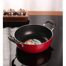 Deals, Discounts & Offers on Home Appliances - Kitchen Essentials Aluminium 9 Inch Induction Nonstick Kadai