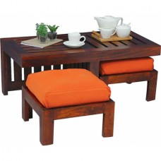 Mebelkart Offers and Deals Online - Mango Wood Coffee Table