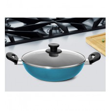 Deals, Discounts & Offers on Home & Kitchen - Pigeon Aluminium 2000 ML Non Stick Kadhai with Lid