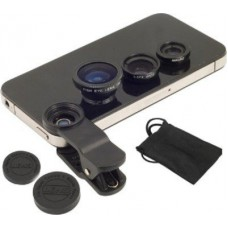 Deals, Discounts & Offers on Mobile Accessories - Suroskie 3 In 1 Universal Camera Kit Mobile Phone Lens