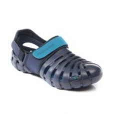 Deals, Discounts & Offers on Foot Wear - Flat 36% off on Provogue PV1061 Blue/LT Blue Clog Shoes