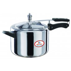 Deals, Discounts & Offers on Cookware - Bajaj Majesty Pressure Cooker with Inner Lid, 5 Litres