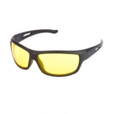 Deals, Discounts & Offers on Men - Night Vision NV01 Black & Yellow Sunglasses For Men