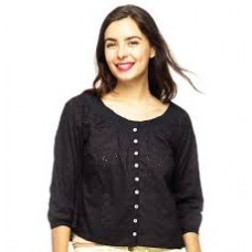 Deals, Discounts & Offers on Women Clothing - Flat 50% off on Marine Black Top