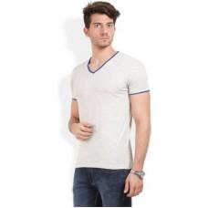 Deals, Discounts & Offers on Men Clothing - Thisrupt Solid Men's V-neck T-Shirt