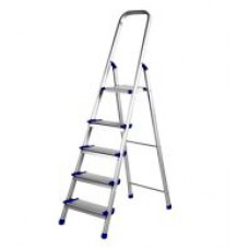Deals, Discounts & Offers on Home Improvement - Dolphin Aluminium Folding Ladder Pro 4 Steps