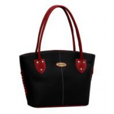 Deals, Discounts & Offers on Women - Flat 76% off on Fostelo Black P.U. Zip Shoulder Bag