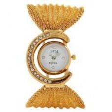 Deals, Discounts & Offers on Women - GLORY GOLDEN FANCY JAAL LADIES WATCH