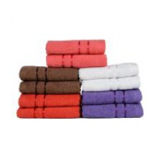 Deals, Discounts & Offers on Home Appliances - Flat 69% off on Pack Of 10 Face Towels