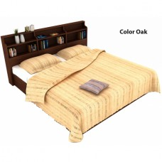 Deals, Discounts & Offers on Home Appliances - Calino Compressed Wood Queen Sized Bed